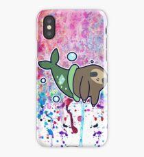MerSloth Rainbow Paint Drip iPhone Case/Skin