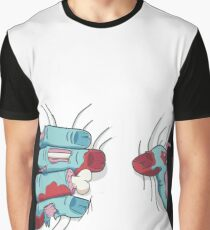 Zombie Hand Squeezing Graphic T-Shirt