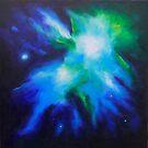 Quark, Strangeness & Charm by JuliaEverettArt