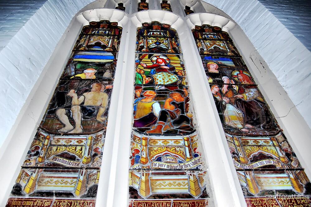 Windows Carcoar Catholic Church NSW by geoffgrattan