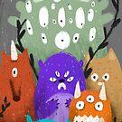 Monsters by Vajtan