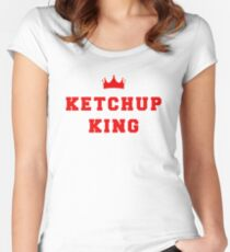 Ketchup King Women's Fitted Scoop T-Shirt