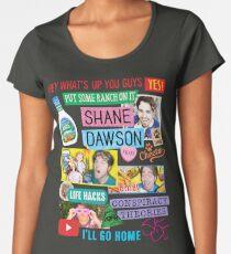 Shane Dawson Collage Women's Premium T-Shirt