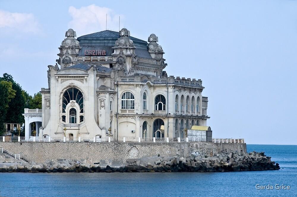 The Old Casino, Constanta, Romania by Gerda Grice