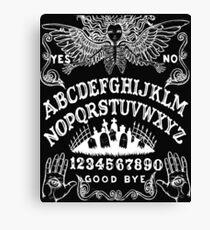 Angel of Death Ouija Canvas Print