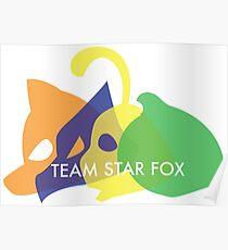 Team Star Fox Poster