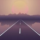 Outrun the Sun - RetroWave by InsertTitleHere