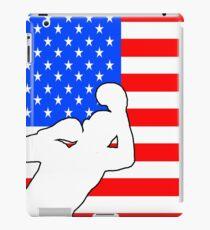 boxing American flag design iPad Case/Skin
