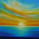 Tangerine Skies by JuliaEverettArt