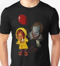 Halloween Best Gift Chucky The Clown  Unisex T-Shirt