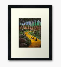 Memories Of Oz Framed Print