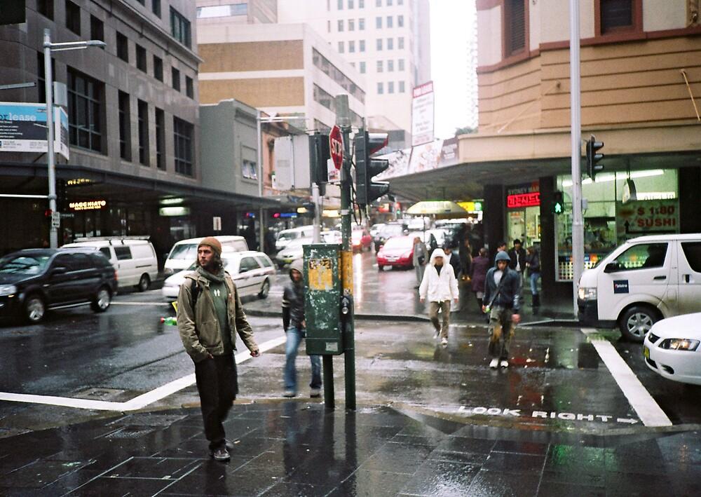 rain in Sydney by adam pearson