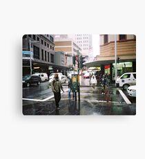 rain in Sydney Canvas Print