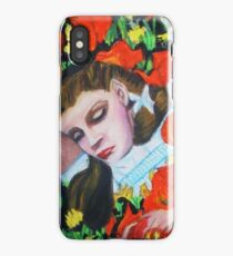 ASLEEP IN THE POPPIES , WIZARD OF OZ iPhone Case/Skin
