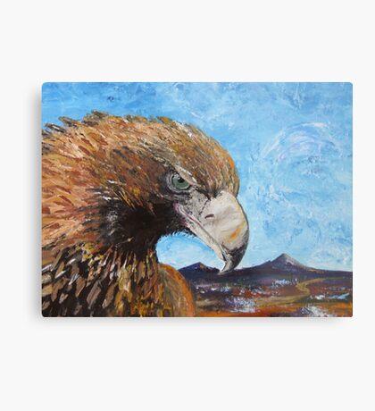 Eagle with Attitude Metal Print