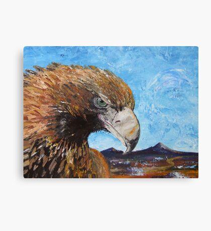 Eagle with Attitude Canvas Print