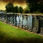 Cemetery Wall by Bine