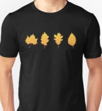 Autumn leaf (black) T-Shirt