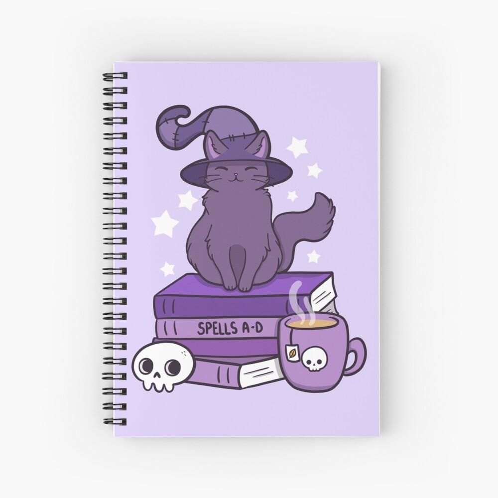 Feline Familiar 02 Spiral Notebook