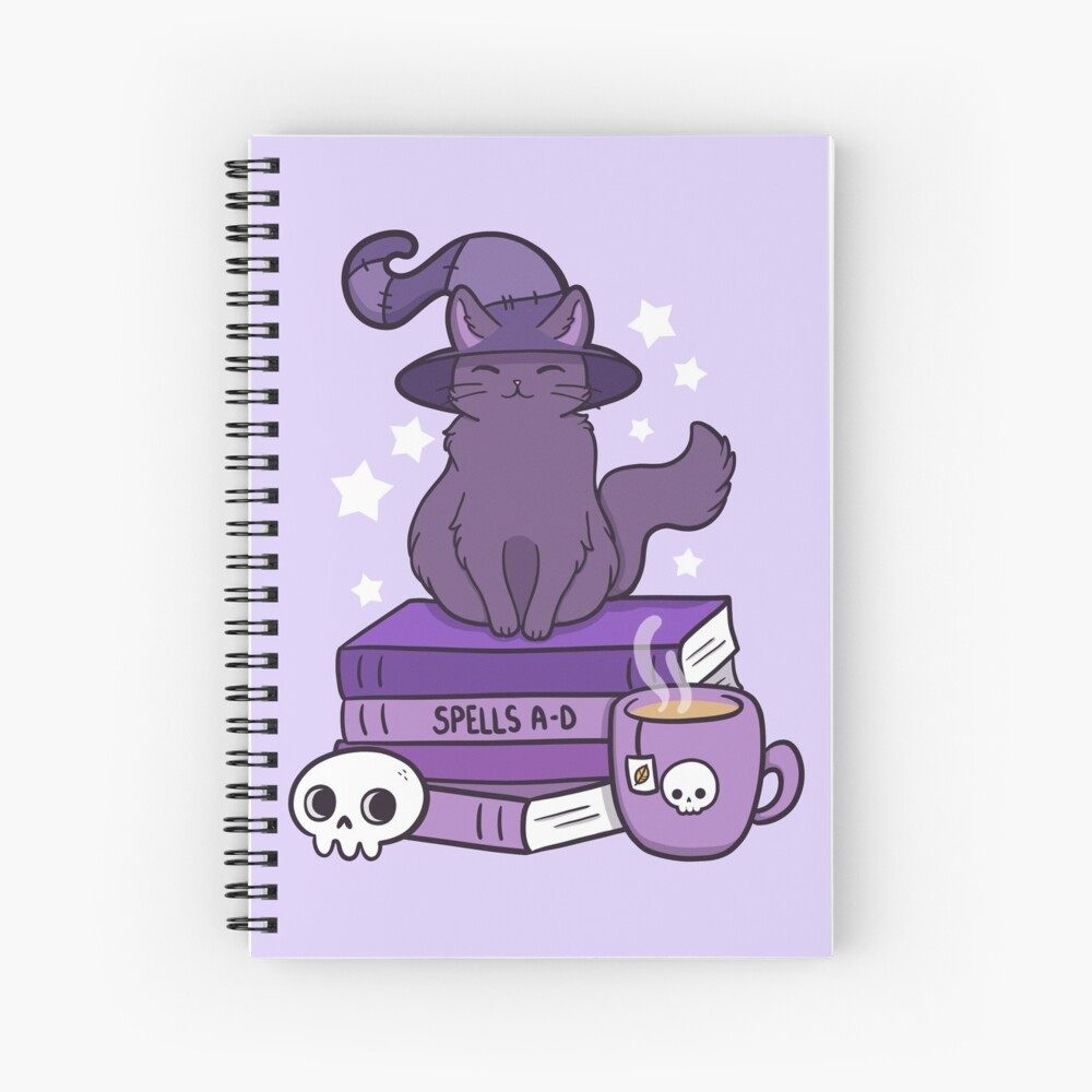 Feline Familiar 02 Spiral Notebook