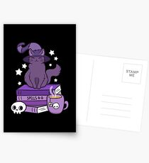 Postales Feline Familiar 02 // Black