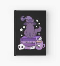 Feline Familiar 02 // Black Hardcover Journal