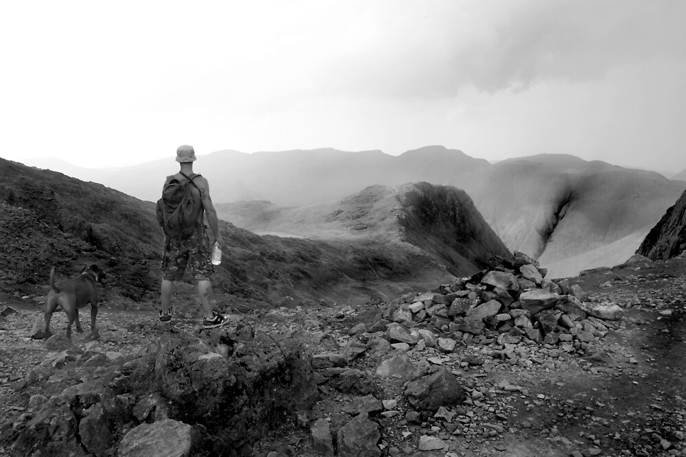 on route to scafell pike by elswervio