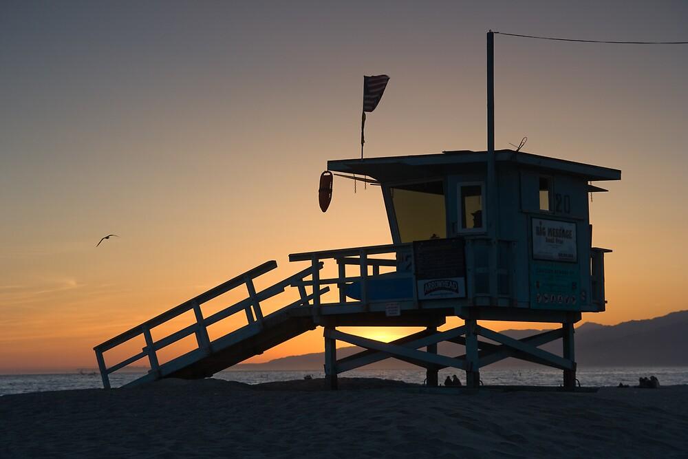 Santa Monica Sunset by Chris Putnam