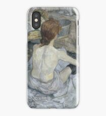 Rousse by Henri de Toulouse-Lautrec iPhone Case/Skin