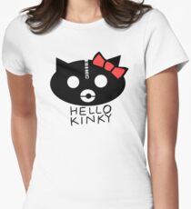 Hello Kinky! Women's Fitted T-Shirt