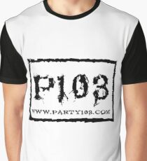 PARTY103 NWO Inspired Black Graphic T-Shirt