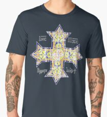 Christian Cross Coptic Men's Premium T-Shirt