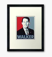 Scott Walker 2016 Framed Print