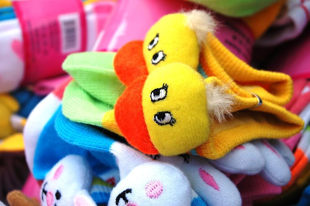Whimsical Socks by Deewonda