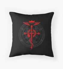 Fullmetal Alchemist Flamel Throw Pillow