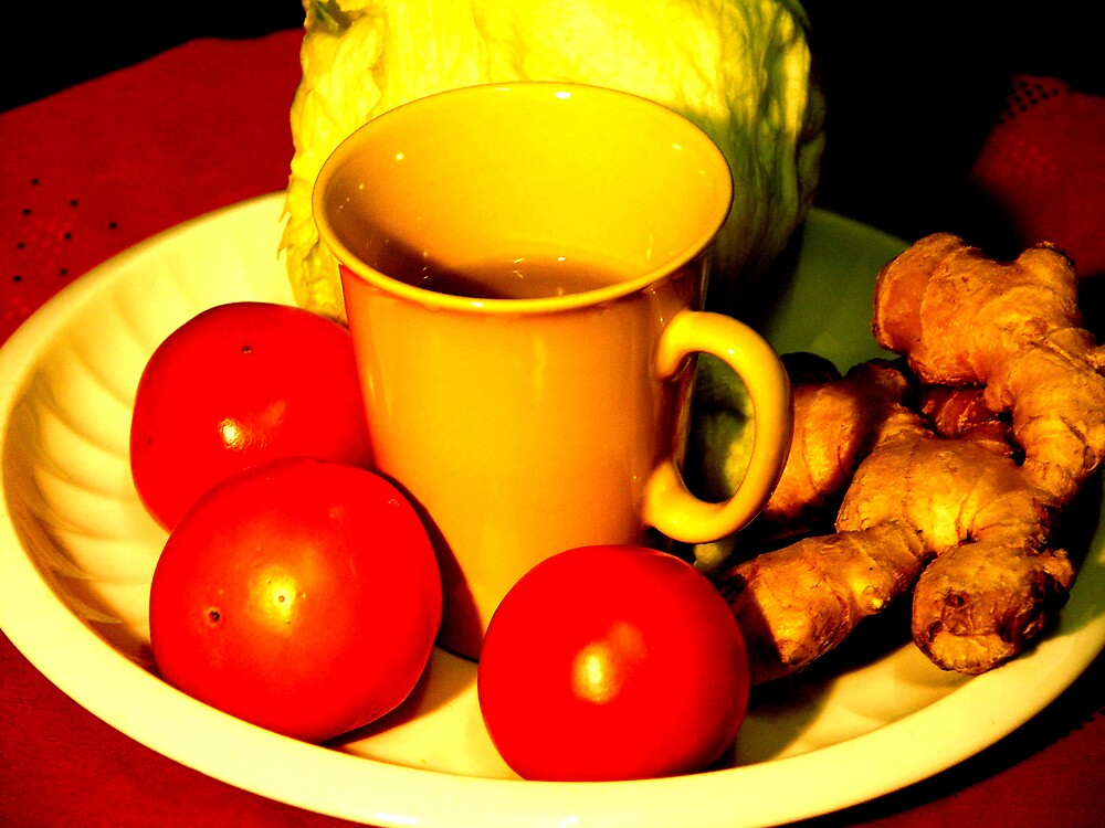 Still Life with Ginger. by Durlabh  Singh