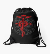 Fullmetal Alchemist Flamel Drawstring Bag
