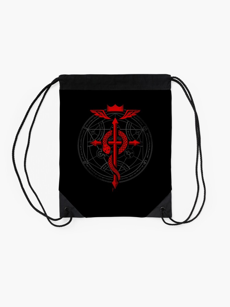 Alternate view of Fullmetal Alchemist Flamel Drawstring Bag