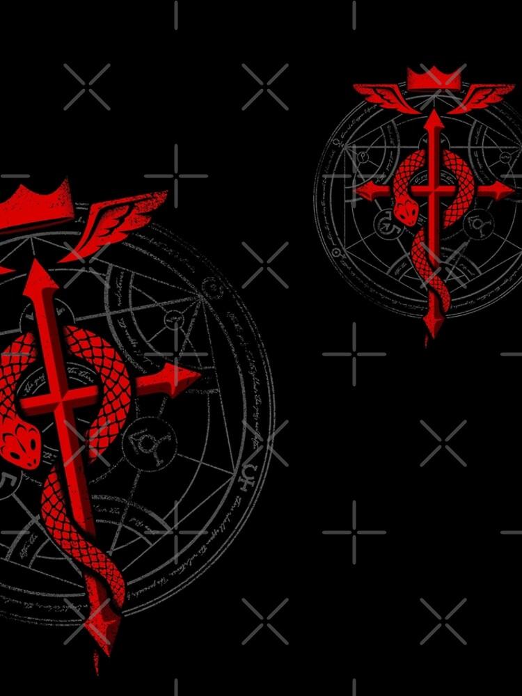Fullmetal Alchemist Flamel by RevolutionGFX