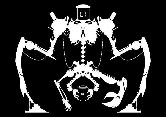 Killbot 01 - SnickerSnak by Simon Sherry