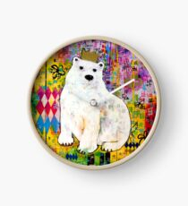 King of the North - Polar Bear Clock