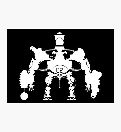 Killbot 02 - Porcelain King Photographic Print