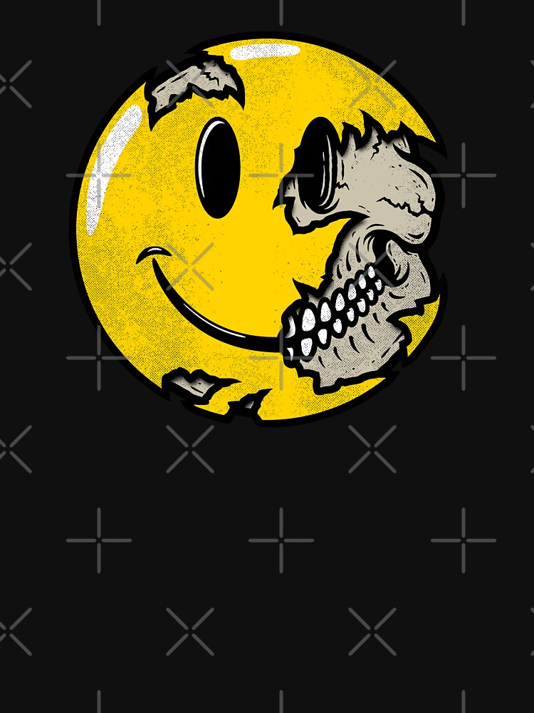 Smiley face skull by RevolutionGFX
