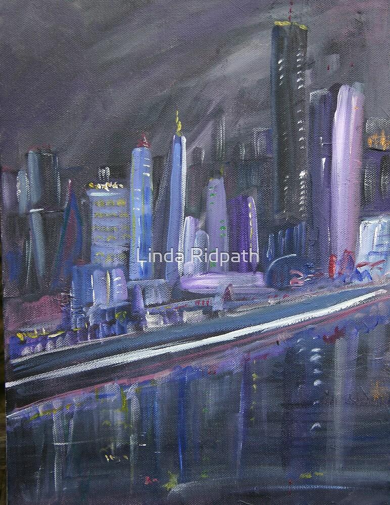 Cityscape Waterfront by Linda Ridpath