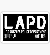 LAPD Sticker