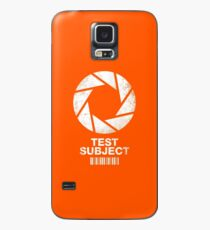 I was a Test Subject Case/Skin for Samsung Galaxy