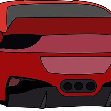 Ferrari by brick86