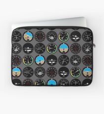 Flight Instruments Laptop Sleeve