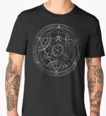 Human transmutation circle - chalk Men's Premium T-Shirt