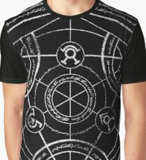 Human transmutation circle - chalk Graphic T-Shirt